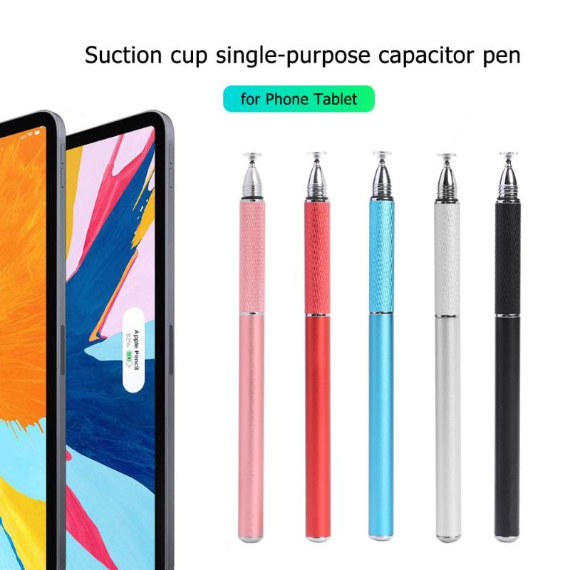 Capacitive Pen Touch Screen Drawing Styluses Pen W/Conductive Touch Sucker