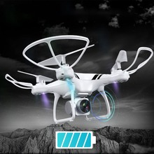 купить KY101S RC Drone with Wifi FPV 0.3MP HD Adjustable Camera Altitude Hold One Key Return/Landing/ Off Headless RC Quadcopter Drone дешево