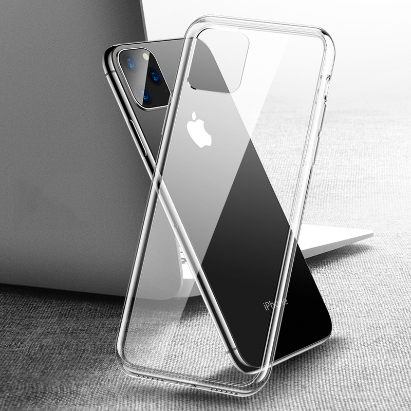 Ultra Thin Soft TPU Gel Transparent Case For iPhone 6 6s 6Plus 6sPlus 7 7Plus Crystal Clear Silicous thin Protective Back Cover