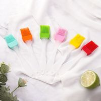 1PC Grill Brush Kitchen Silicone Basting Pastry Cooking Brushs & BBQ Basting Brush Kitchen Elegant Temperament Charming