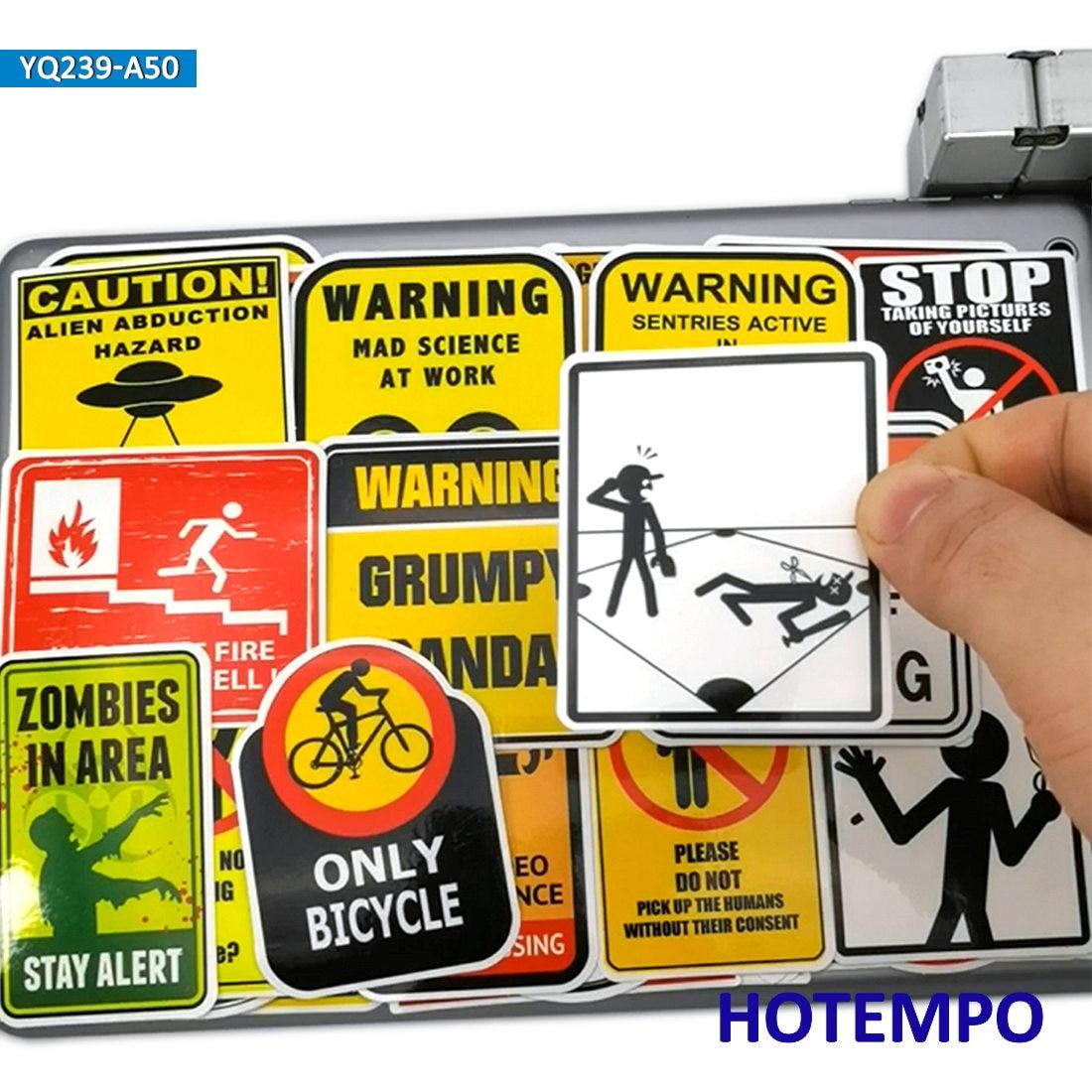 No mobile phones warning stickers bulk set