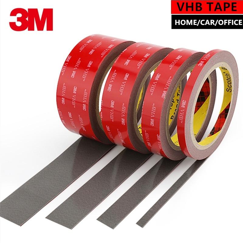 Adhesivo acrílico 3M VHB, cinta de espuma de doble cara resistente al agua IP68, decoración para el hogar, el coche y la Oficina, alta calidad, AA8809