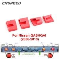 4 Uds trasera de coche de arranque con portón trasero reparación Clips diseñado para Nissan QASHQAI 2006-2013 Auto cierre y Clip de reparación Clips Trim
