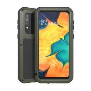 Image 4 - Металлическая броня для Samsung Galaxy A41 A20 A30 A30S A40S брызгозащищенный пыленепроницаемый ударопрочный Прочный чехол с полным покрытием для занятий спортом на открытом воздухе чехол для телефона