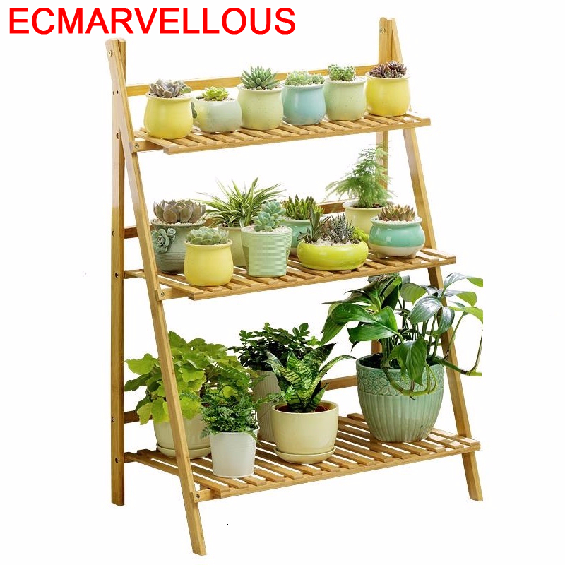 Huerto Urbano Madera Repisa Wood Estanteria Pot Estante Para Plantas Table Varanda Balcony Shelf Outdoor Flower Rack Plant Stand