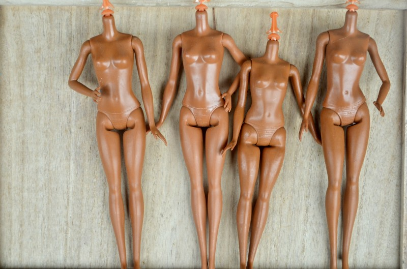 Original Kids Toy 1/6 11 Jointed DIY Movable Nude Naked For 11.5