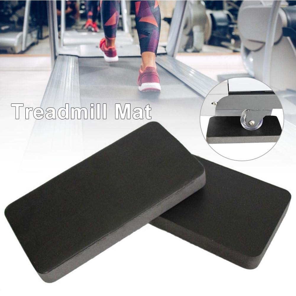 6pcs Non-Slip Treadmill Mat Professional Shock Absorbing Sound Insulation Exercise Home Waterproof Workout Gym Fitness Equipment image