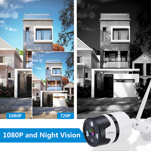Image 2 - CPVan IP6S IP камера Alexa камера HD 1080P цилиндрическая камера двухсторонняя аудио Водонепроницаемая камера ночного видения Wi Fi