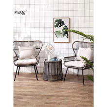 Prodgf 1 Set 80*65*65cm Outdoor handmade Rattan Chair