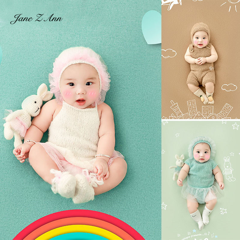 Jane Z Ann Baptism Clothes for Babies  Baby Photo Shoot Clothing Filming Props  Children 100 days/3-4 month  Theme costume 1