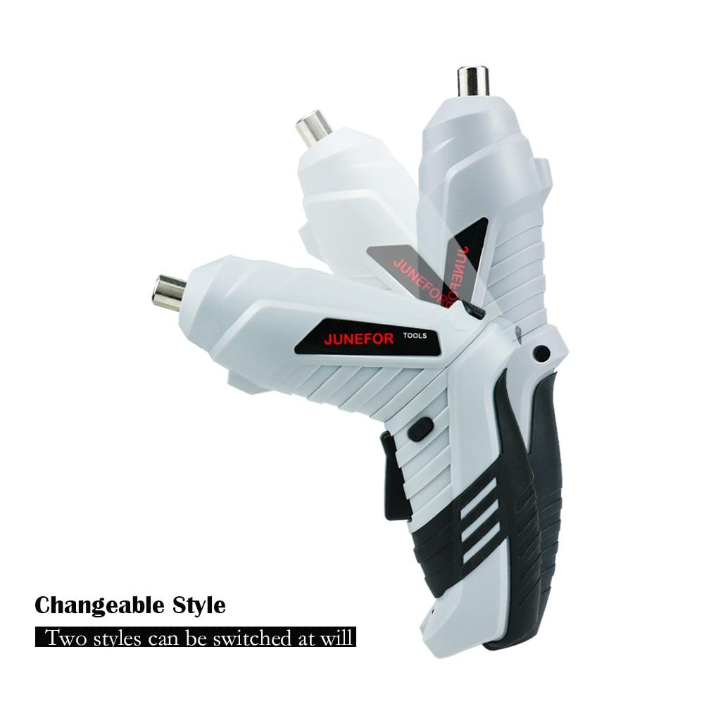 3,6 В мини набор электрических отверток, умные беспроводные электрические отвертки, USB перезаряжаемая ручка с набором из 15 бит, дрель|Электрические отвертки| | АлиЭкспресс
