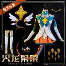 2019 New Game LOL Cosplay Costume Anime Star Guardian Neeko Cos Sexy Dress Women Uniform H christmas cos new game suzukaze aoba hot anime cosplay costume evil dress black wings full set