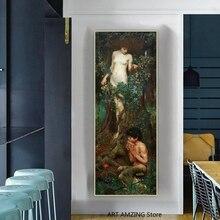 #111791 40x30cm John William Waterhouse Poster Leinwand-Druck