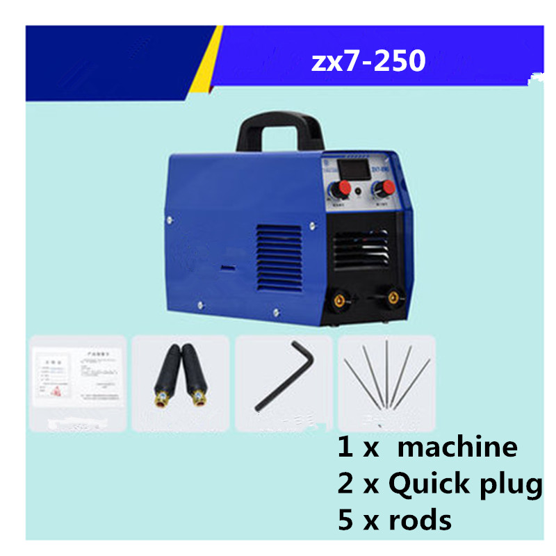 ZX7-250 Dual voltage 220v 380v dual-use automatic household industrial welding machine Plasma cutting machine Plasma Cutter