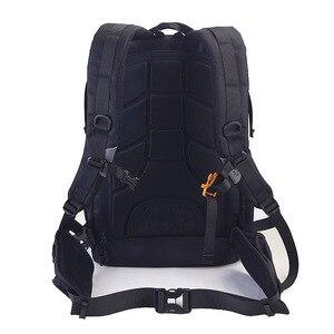 Image 2 - Camera Backpack Waterproof Anti theft Nylon Photo SLR Case Bag Backpack Camera Bag with TSA Lock Rain Cover for Canon Nikon Sony
