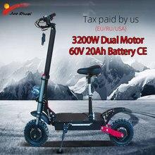 Scooter eléctrico para adultos de 60V3200W con batería de 20AH