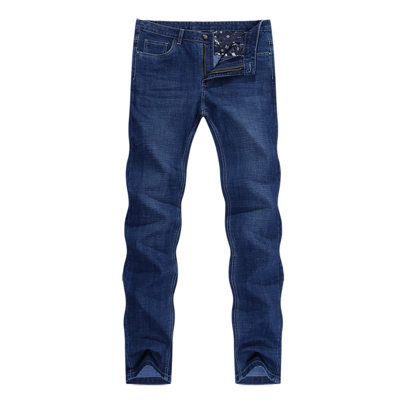 KSTUN New Arrivials Man jeans Brand 2019 Classic Jeans Men Thick Direct Straight Regular Fit Long Trousers Business Casual jean homme 11