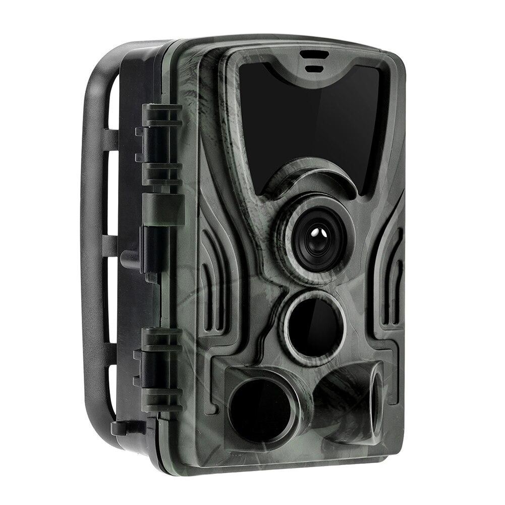 HC801A Jagd Trail Kamera Nacht Version Wilden Kameras 16MP 1080P IP65 Wasserdichte Falle 0,3 s Trigger Wildlife Kamera DVR dash Cam
