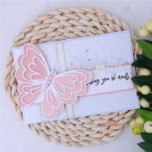 Inlovearts пресс формы в виде бабочки металлические для скрапбукинга