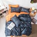 Классический Комплект постельного белья со стразами и звездным небом  Комплект постельного белья для дома  пододеяльник  наволочка  просты...