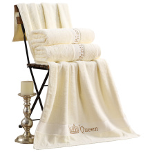 100% Cotton  Bath Towels for Adults Sea Vacation Beach Towels Child Face Towel King Queen Embroidery Designers Towel