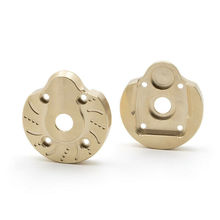 Front Rear Steering Knuckle Caps Brass Axle Covers for Axial Capra UTB RC