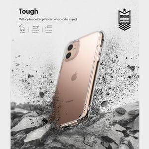 Image 2 - Ringke Fusion kılıfı iPhone 11 temizle PC arka ve yumuşak TPU çerçeve hibrid askeri bırak test için yeni iPhone kılıf