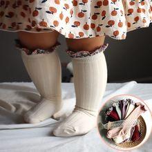 12pair/lot Baby Girls Korean Style Floral Ruffle Socks Summer Autumn Cherry Pattern Socks Kids Toddler Plaid Spanish Leg Warmer