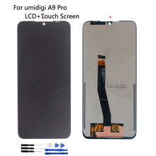 Original For UMI Umidigi A9 Pro LCD Display Touch Screen Assembly Accessories For UMIDIGI A9 PRO Screen LCD Display Free Tools