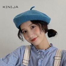 Women beret autumn and winter  craft hat felt hair decoration