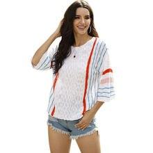 Модная рубашка женские топы в Вертикальную Полоску подходящие