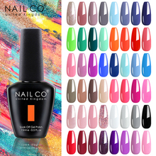 NAILCO 15ML 103 Classic Color Varnish Soak Off UV LED Gels Nail Polish Hybrid Lacquer High Quality For Manicure New Arrivals