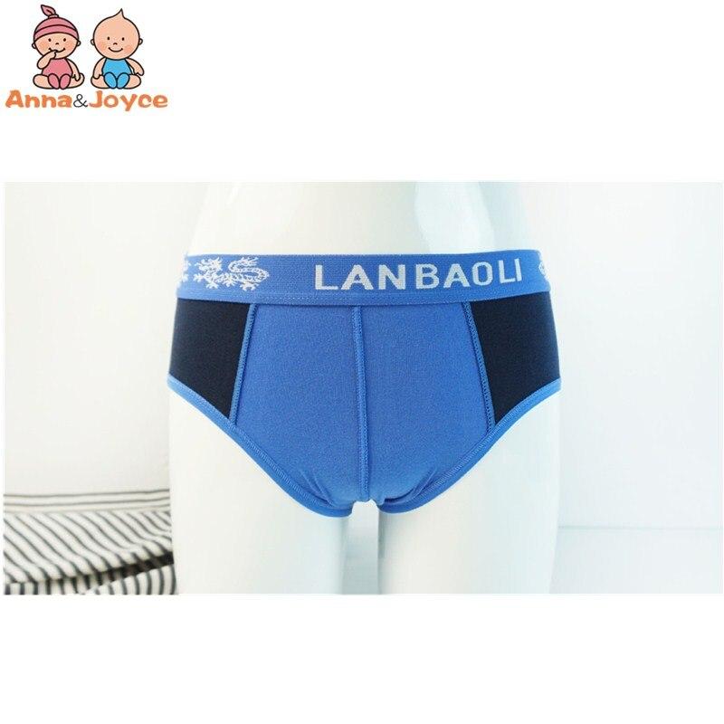 3pc Boys Cartoon Printing Cotton Briefs Children's Underwear Soft Comfortable Three Yards 3 To 12years 4