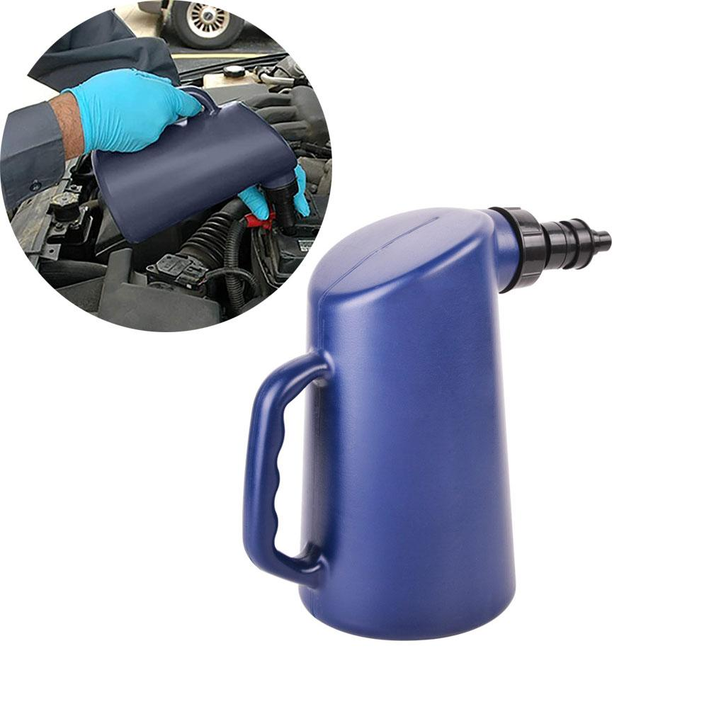 Car Battery Fluid Filler Battery Jug Water Filler Bottle With Auto Shut Off 2L Auto Battery Filler with Auto Shut Tool