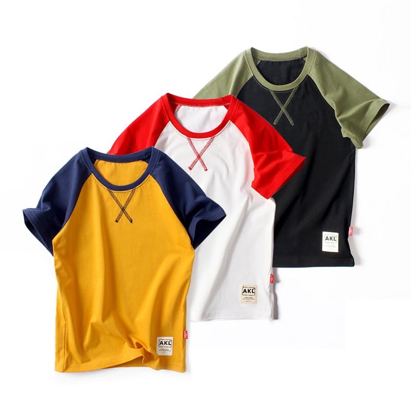 Boys T Shirts 2020 Summer  Children T-Shirts 100% Cotton  Kids TShirt Kids Tops 3-12 Years Children Clothes