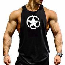 2019 Casual vest men musculation Summer Cotton Fit Men Tank Tops Clothing Bodybuilding Undershirt Men Fitness