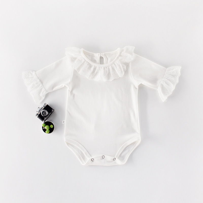 Baby Girl Bodysuits Long Sleeve Newborn Bebes Onesie Body Suit Top Autumn Winter Toddler Infant Cotton Jumpsuits Pajamas Clothes