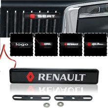 Передняя решетка автомобиля рамка светильник светодиодный Эмблема для Fiat 500 Punto Panda Stilo Bravo Grande Ducato 500x Doblo Cronos Talento Tipo Mobi 50