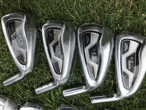 MX1000 Golf Clubs Iron Set 4-9PGS Steel Graphite Shaft Driver Wedge Rescue Putter Free Shipping