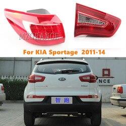 MZORANGE внешняя внутренняя хвост светильник для KIA Sportage 2011-14 Q5 Стиль светодиодный задний фонарь стоп-сигнала Rearbrake свет светильник хвост светил...