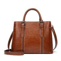 Brand Genuine Leather Handbags Women Messenger Bags Famous Brands Handbag Shoulder Bag Tote Luxury Shopping Crossbody 2020 C1282