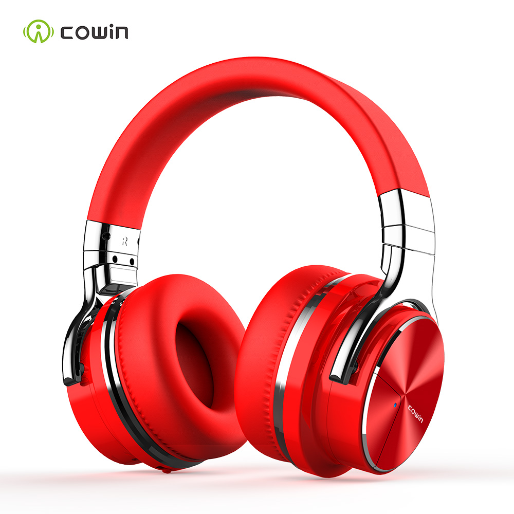 Cowin E7PRO Active Noise Cancelling Headphones Wireless Bluetooth Headset HiFi Stereo with Microphone
