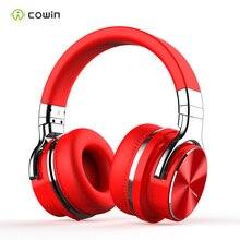 Cowin e7pro fone de ouvido ativo, cancelamento de ruído, wireless, fone de ouvido bluetooth estéreo hi fi com microfone