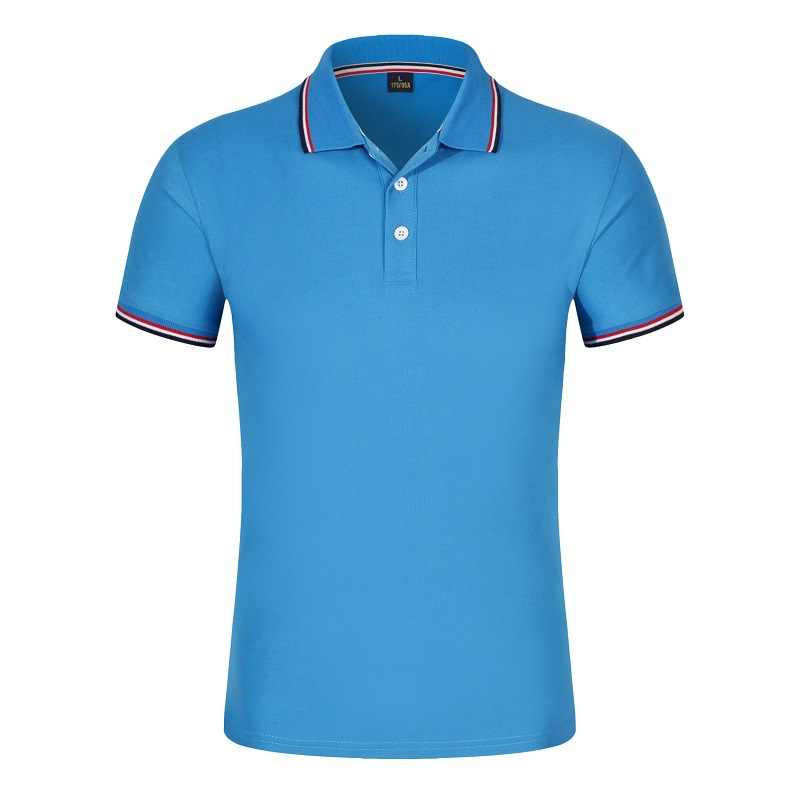 Baru 2019 Warna Solid Musim Panas Kaos POLO Pria Lengan Pendek Bernapas Anti Pilling Merek Polos untuk Hombre Plus Ukuran s-3XL