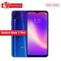 Original Xiaomi Redmi Note 7 Pro 6GB 128GB 48MP IMX 586 Camera Snapdragon 675 Octa Core 6.3'' FHD Screen Mobile Phone 4000mAh