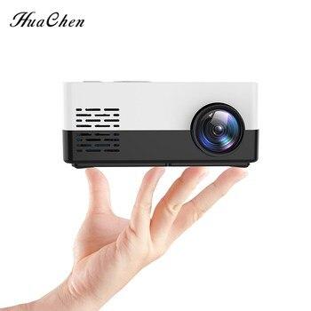 Mini Proyector LED portátil J15/S261 para hogar... reproductor multimedia HD con soporte...