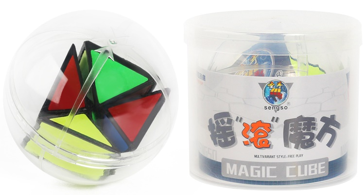 ShengShou Rock Shake Ball Magic Cube Speed Twisty Puzzle Brain Teasers Challenging Intelligence Educational Toys For Children