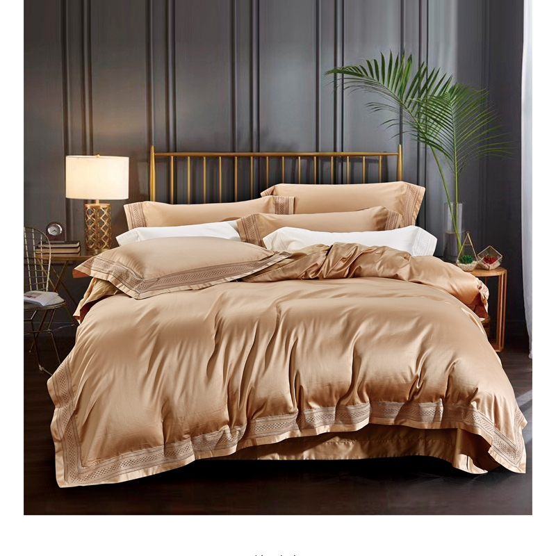 1000 Thread Count Luxury Egyptian Cotton US-Bedding Items Wine Striped