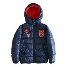 Г. Зимние парки для мальчиков пальто для мальчиков детская верхняя одежда и пальто ветрозащитная водонепроницаемая одежда для малышей куртки для мальчиков размер 98 до 116