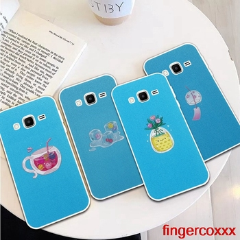 Coxxx Fish 1 Silicon Soft TPU Case Cover For Samsung Galaxy Core Grand Prime Neo Plus 2 G360 G530 I9060 G7106 Note 3 4 5 8 9 image